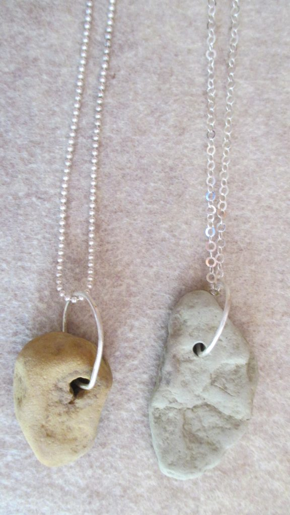Eternity Series.with Sterling Silver Neckalce