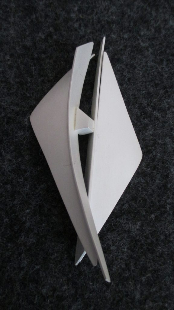 Sterling Silver Constructed Brooch